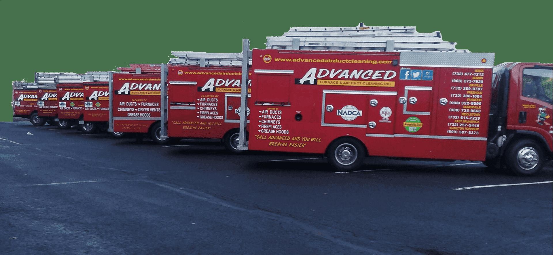 Truckspic4 Advanced Furnace Air Duct Cleaning Nj
